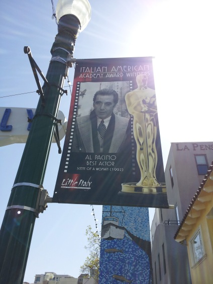 Little Italy celebrates Al Pacino - JohnnyfromCA